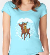 Deer Rider Women's Fitted Scoop T-Shirt
