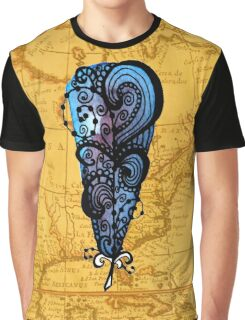 Traveling Feather Graphic T-Shirt