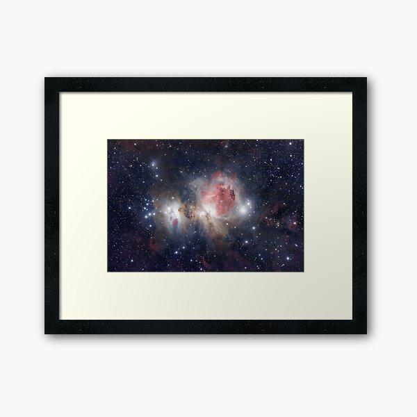 M42 Orion Nebula Framed Art Print