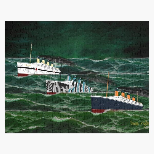 The 3 Giant Sisters Sailing Together Jigsaw Puzzle