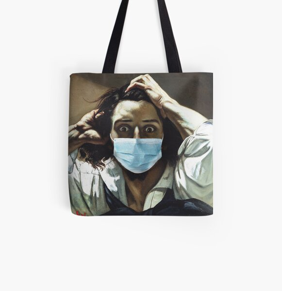 The Masked Desperate All Over Print Tote Bag