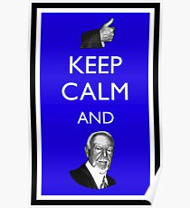 Keep Calm and Don Cherry Poster