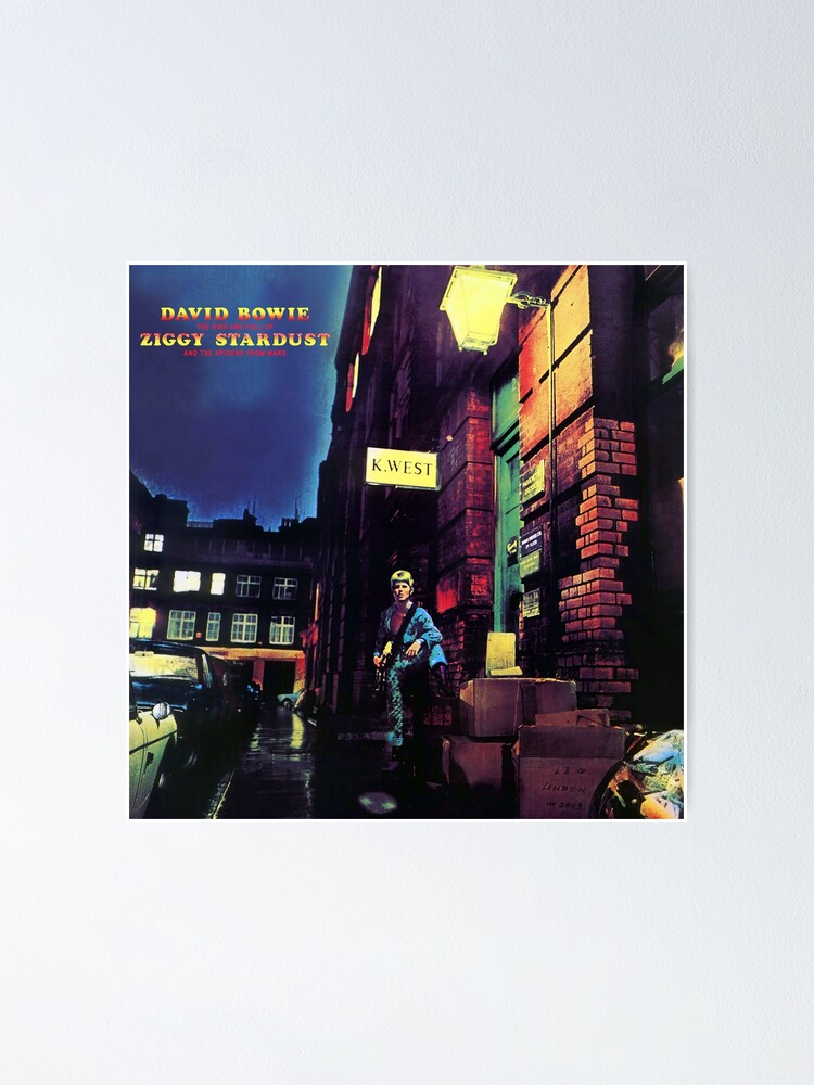 Alternate view of The Rise and Fall of Ziggy Stardust (HD) Poster