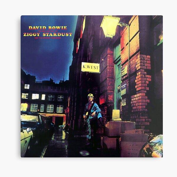 La montée et la chute de Ziggy Stardust (HD) Impression métallique