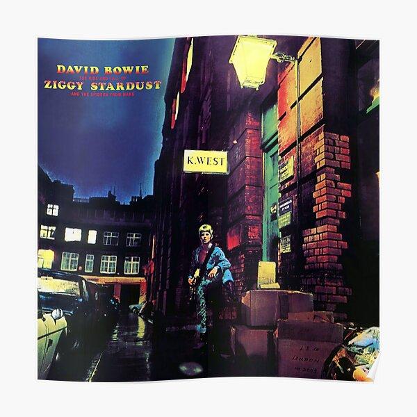 El ascenso y la caída de Ziggy Stardust (HD) Póster