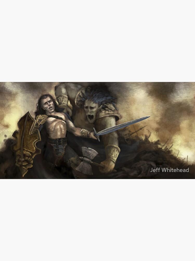The Ogre Battle | Canvas Print