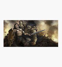 The Ogre Battle Photographic Print