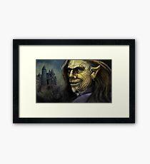 The Master stroke Framed Print