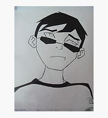 Young Justice Robin Civies Photographic Print