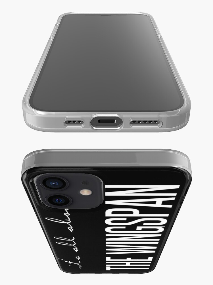 Alternate view of all about the wingspan - vertical iPhone Case & Cover