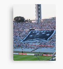 Uruguay- La Historia Debe Continuar Canvas Print