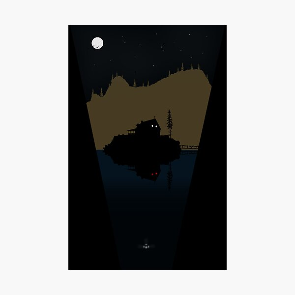 Alan Wake Photographic Print