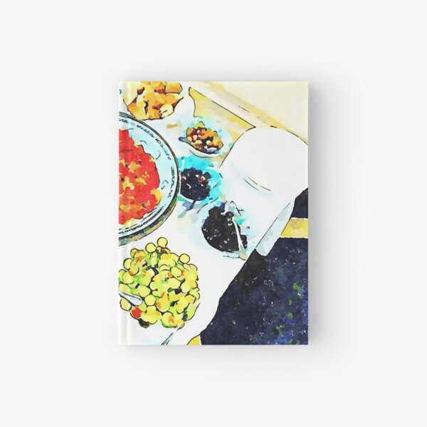 Typical dishes Hardcover Journal