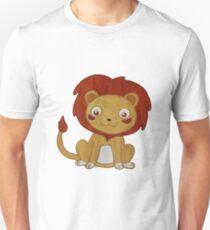 Watercolour Lion Unisex T-Shirt