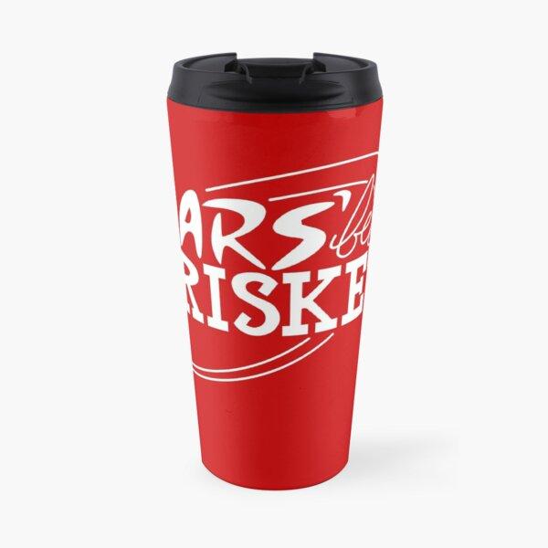 Mars' Best Brisket Official Crew Member (White) Travel Mug