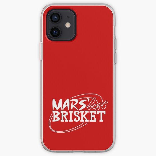Mars' Best Brisket Official Crew Member (White) iPhone Soft Case