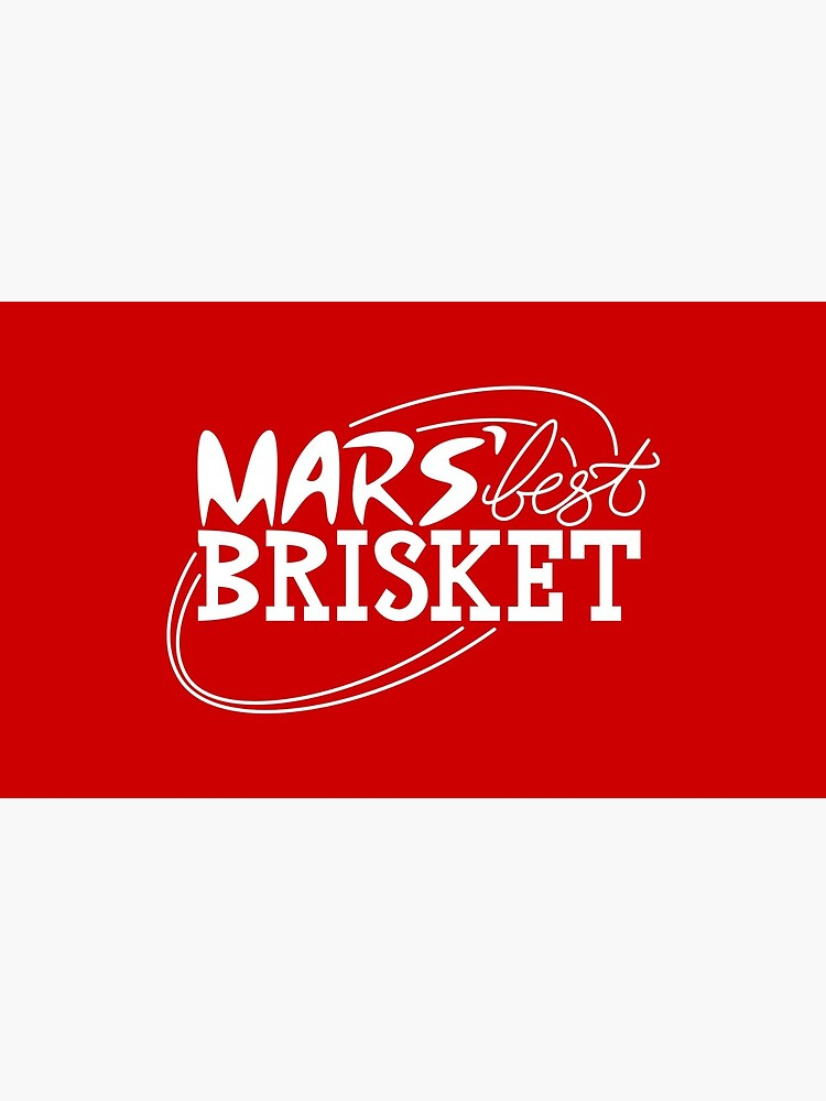 Mars' Best Brisket Official Crew Member (White) by thponders
