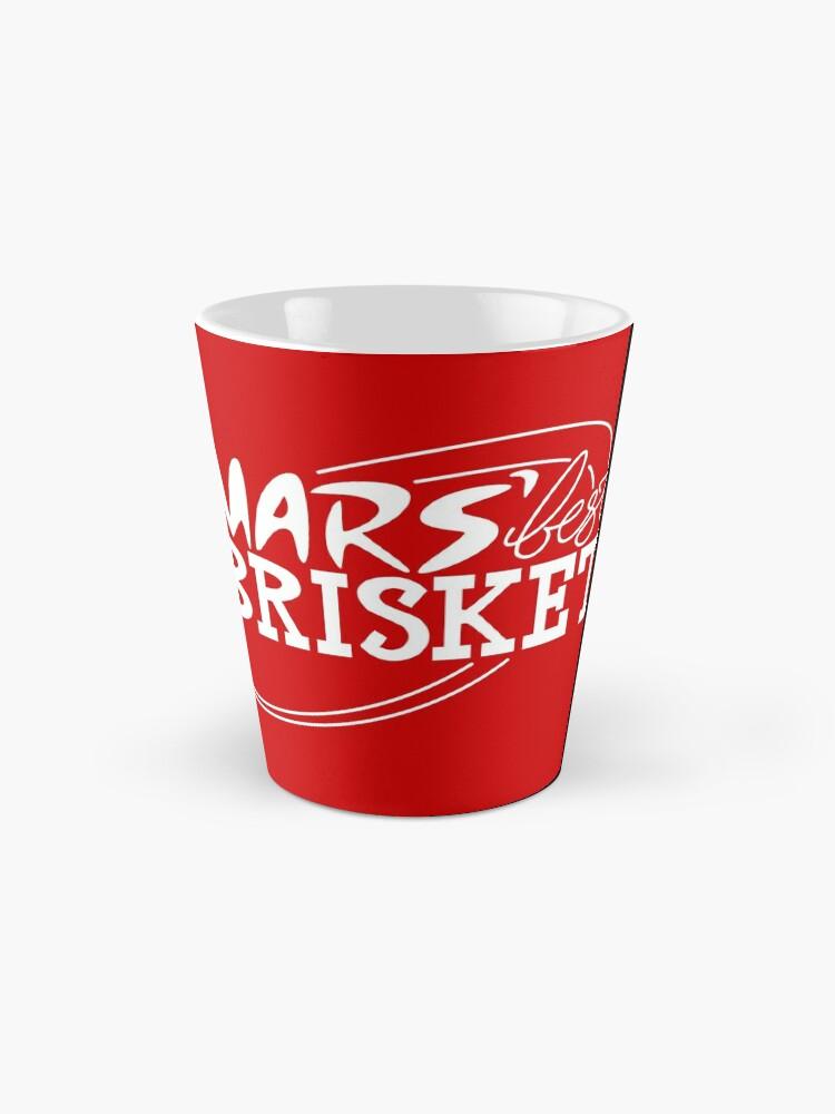 Alternate view of Mars' Best Brisket Official Crew Member (White) Mug