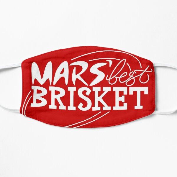 Mars' Best Brisket Official Crew Member (White) Flat Mask