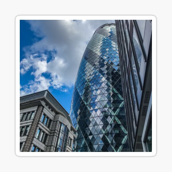 London reflections  Sticker