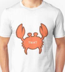 Twat Crab (as seen in Derek) Unisex T-Shirt