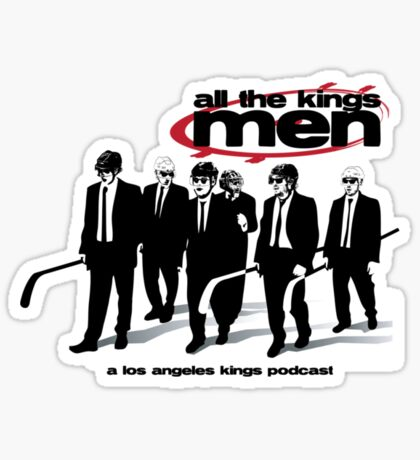 All The Kings Men Podcast Logo Sticker
