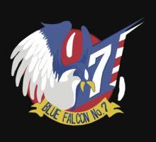 Blue Falcon Tee | Unisex T-Shirt