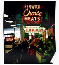 Cross Street Market, Baltimore Poster