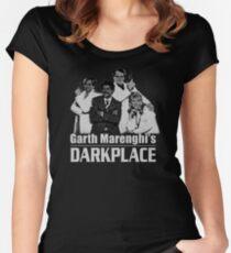 Garth Marenghi's Darkplace Women's Fitted Scoop T-Shirt
