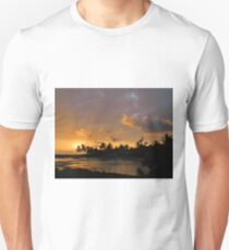 Sunset at Queen's Bath T-Shirt