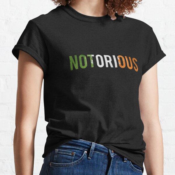 Irlandais notoire T-shirt classique