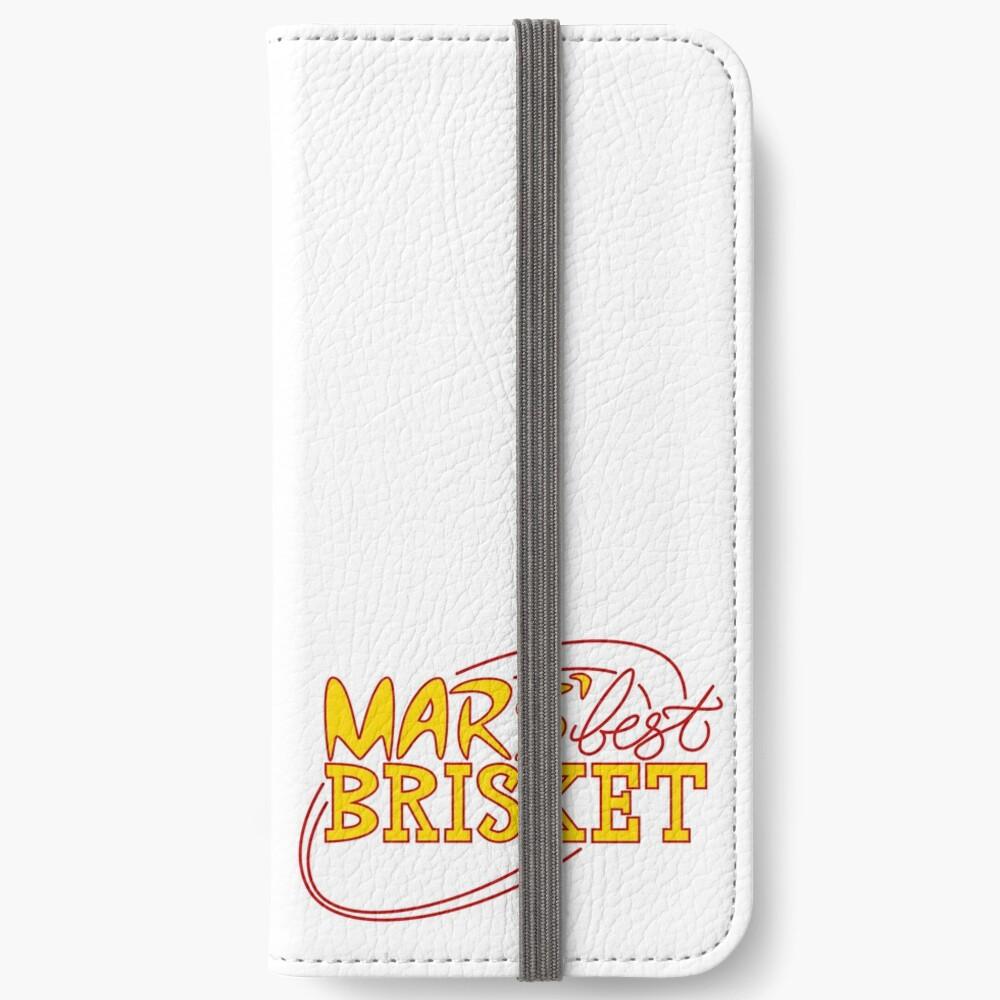 Mars' Best Brisket Official Crew Member (Yellow) iPhone Wallet