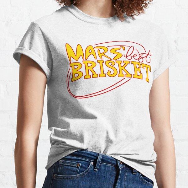 Mars' Best Brisket Official Crew Member (Yellow) Classic T-Shirt