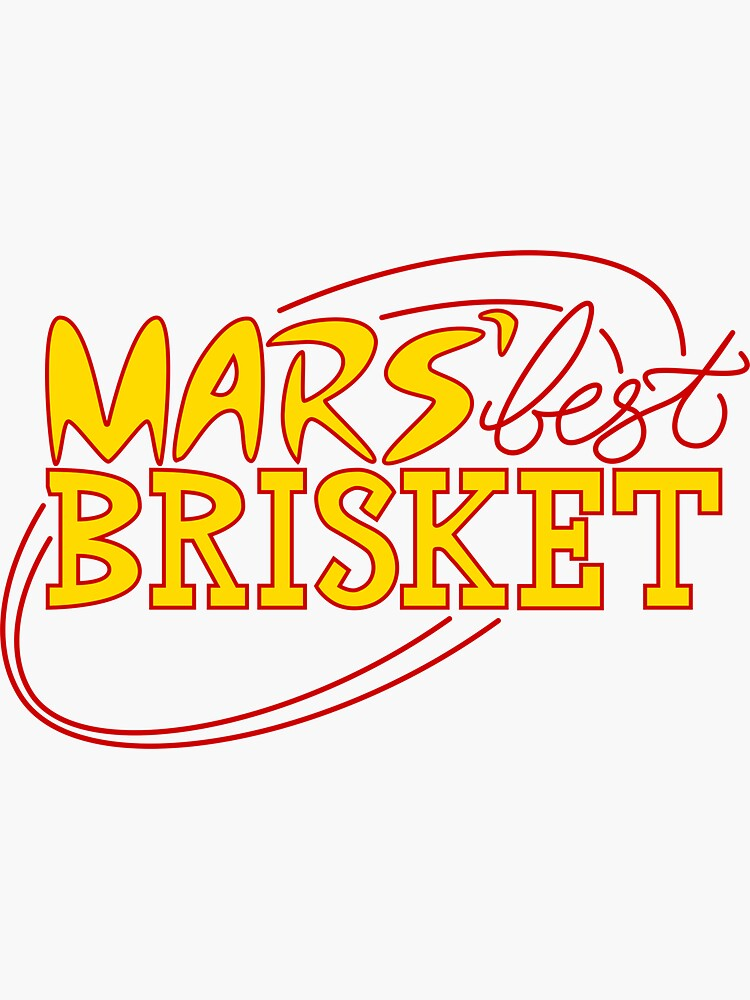 Mars' Best Brisket Official Crew Member (Yellow) by thponders