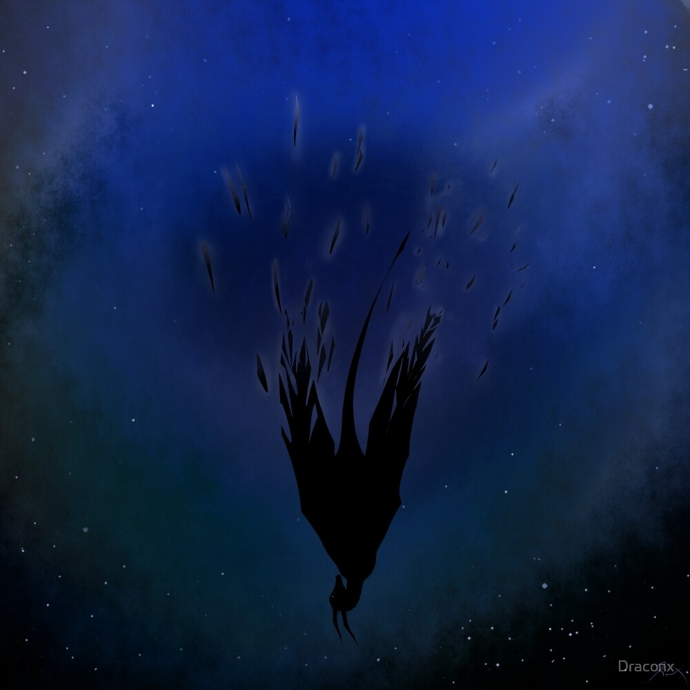 Fragments Of Sanity (Blue) by Draconx