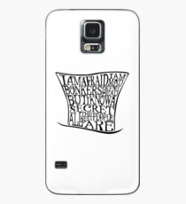 Mad as a Hatter Case/Skin for Samsung Galaxy