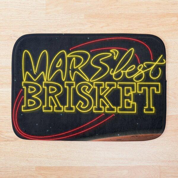 Mars' Best Brisket Show Art Bath Mat