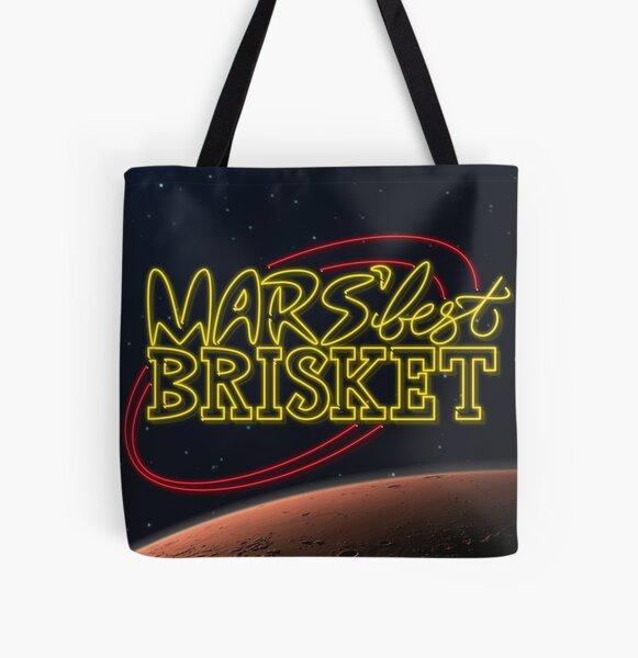 Mars' Best Brisket Show Art All Over Print Tote Bag
