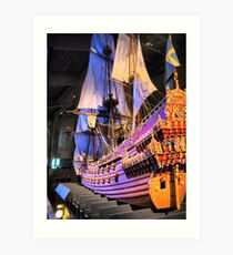"The Vasa""  ( 4 ) A Scale Model Art Print"