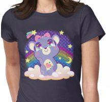 Daydream Bear Womens Fitted T-Shirt