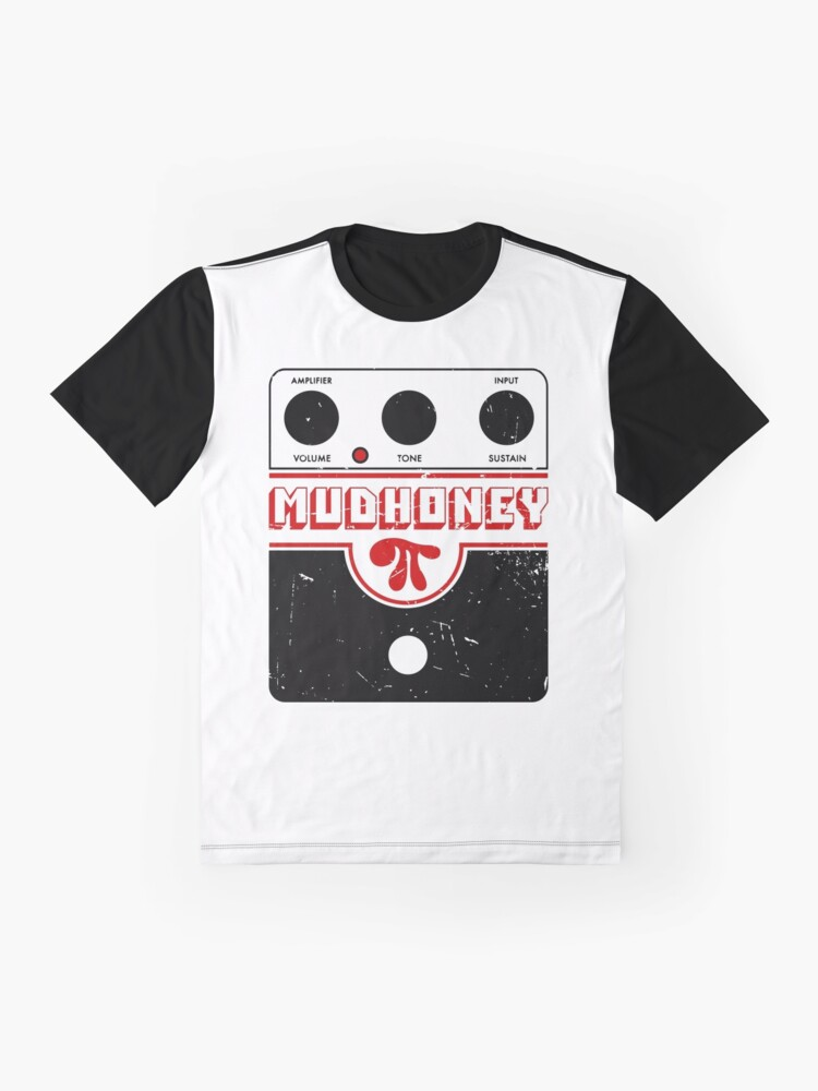 Alternate view of Mudhoney Big Muff - Guitar Distortion Pedal - Distressed Print Design Graphic T-Shirt