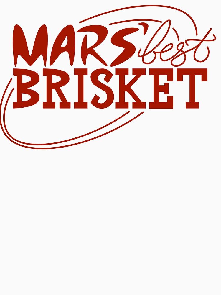 Mars' Best Brisket Official Crew Member (Red) by thponders