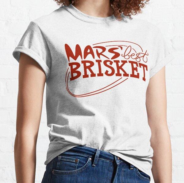 Mars' Best Brisket Official Crew Member (Red) Classic T-Shirt