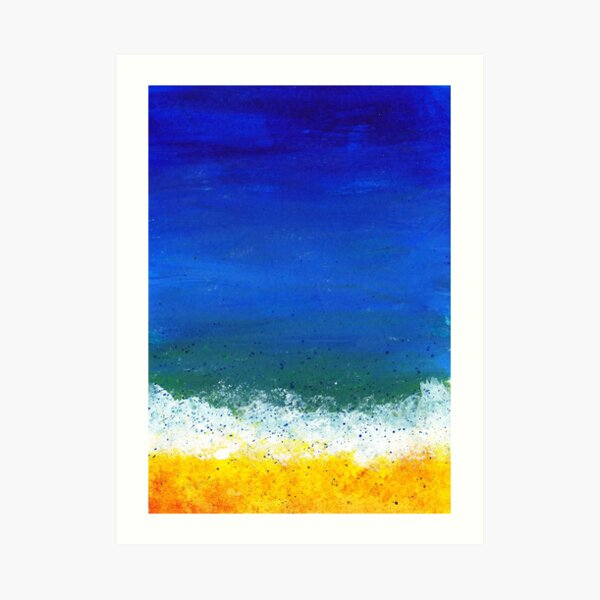 Seashore One Art Print