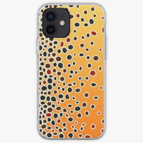 Brown Trout Skin iPhone Soft Case