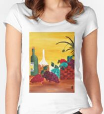 Vineyard Women's Fitted Scoop T-Shirt