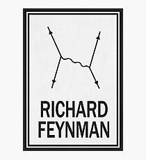 Richard P. Feynman Photographic Print