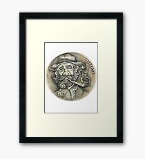 Levi Longwind Hobo Nickel Framed Print