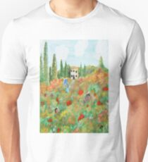 My Field Of Poppies Unisex T-Shirt