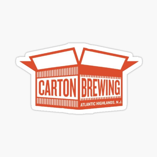 Carton Brewing 2 New Jersey Sticker